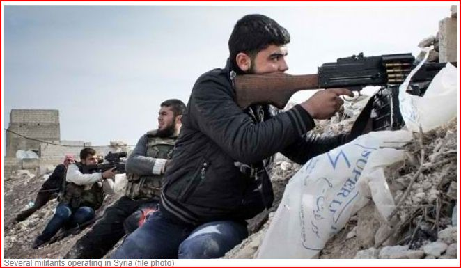 War_Syria_Several_Militants