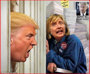 DonaldTrump-HillaryClinton-BillClintonRapist