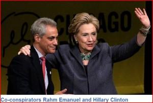 RahmEmanuel-HillaryClinton