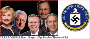 Treasonous-Bush-Clinton-Crime-Syndicate
