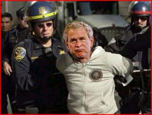 George-W-Bush-Arrest